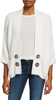 Pure & Co. Ideas Open-Front Cardigan