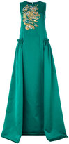 Rochas sequined gown - women - Polyester/Cupro - 40