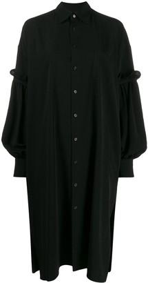 Yohji Yamamoto Oversized Shirt Dress