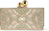 Sophia Webster Clara Embellished Gold-tone Box Clutch - one size