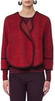 Akris Punto Women's Wool Blend Crop Jacket