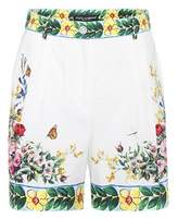 Dolce & Gabbana Printed cotton shorts