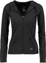 Athletic Propulsion Labs Mesh-paneled stretch-knit hooded jacket