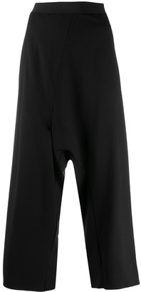 MM6 MAISON MARGIELA Drop-Crotch Cropped Trousers