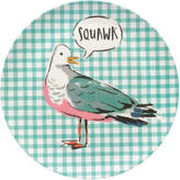 Cath Kidston Seagull Check Bamboo Plate