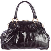 Marc Jacobs Patent Leather Stam Bag