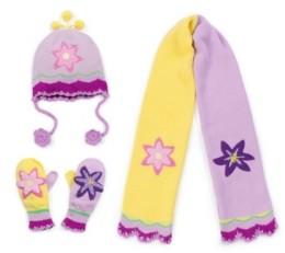 Kidorable Big Girl Lotus Knitwear Set