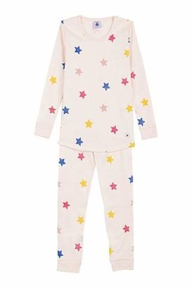 Petit Bateau Girl's 5756901 Sleepsuit
