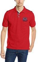Daniel Hechter Men's Polo Shirt - Red -
