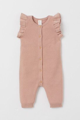 H&M Knit Cotton Romper Suit