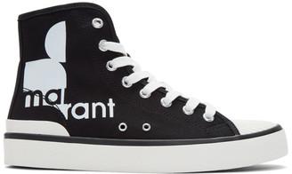 Isabel Marant Black Benkeen Sneakers