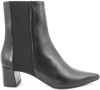 Aldo Castagna Iris Ankle Boot In Black Leather