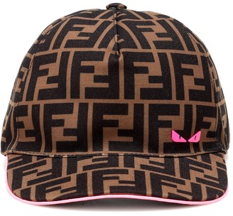 Fendi Kids Logo baseball cap
