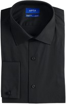 Apt. 9 Men's Premier Flex Collar Slim-Fit Stretch French Cuff Dress Shirt