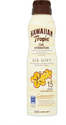 Hawaiian Tropic Silk Hydration Air Soft Lotion Continuous Spray Spf15 177Ml
