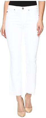 AG Jeans Jodi Crop in White (White) Women's Jeans