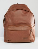 Eastpak Padded Pak R Leather Backpack