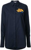 Stella McCartney embroidered shirt - women - Cotton - 38