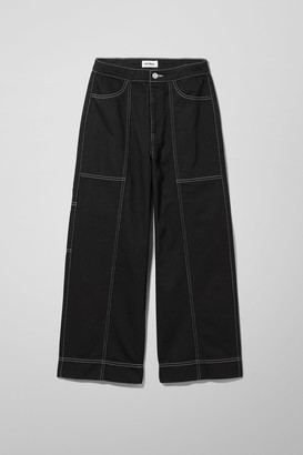 Weekday Avon Black Jeans - Black