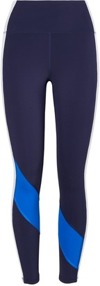 Tory Burch Super High-Rise Weightless Color-Block Leggings