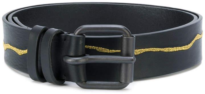 Haider Ackermann embroidered hip belt