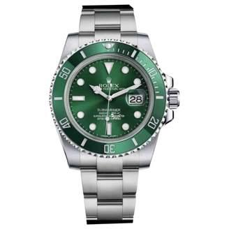 Rolex Submariner Green Steel Watches