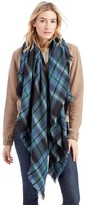 Sole Society Mixed Plaid Scarf