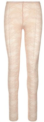 RED Valentino Floral Lace Tights