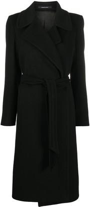 Tagliatore Belted Cashmere Coat