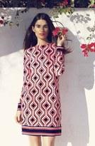MICHAEL Michael Kors 'Argyle' Print Shift Dress (Petite)