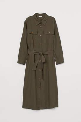 H&M Twill shirt dress
