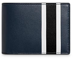 Shinola Stripe Slim Bifold Wallet