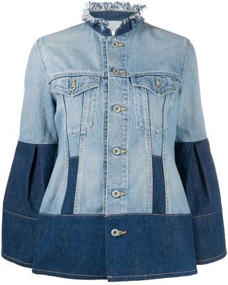Junya Watanabe Two-Tone Denim Jacket