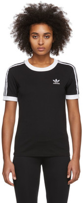adidas Black 3-Stripes T-Shirt