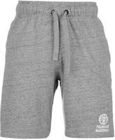 Franklin And Marshall Fleece Logo Shorts