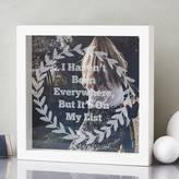 Laurèl Sophia Victoria Joy Personalised Etched Framed Print