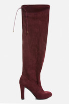 Fashion to Figure Daisy Over-The-Knee Faux Suede Boots (Wide Width)