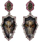 Sevan Biçakci Women's Owl Intaglio Double-Drop Earrings