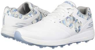 Skechers Go Golf GO GOLF Max Draw (Black/Purple) Women's Golf Shoes