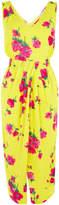 Warehouse Delia Flower Sleeveless Dress