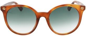 Gucci GG Round Acetate Sunglasses