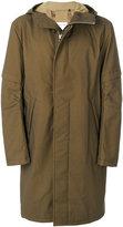 Helmut Lang long line coat