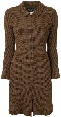 Chanel Pre Owned 1997 Fitted Tweed Dress