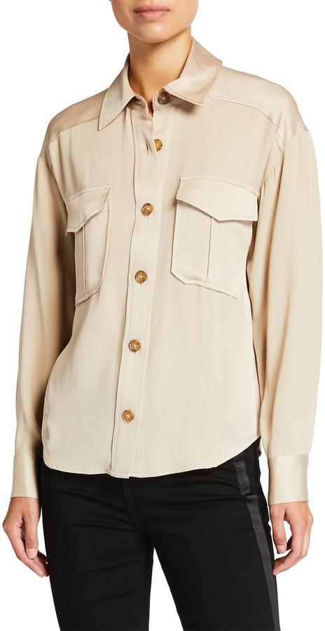 Veronica Beard Ainsley Button-Down Shirt