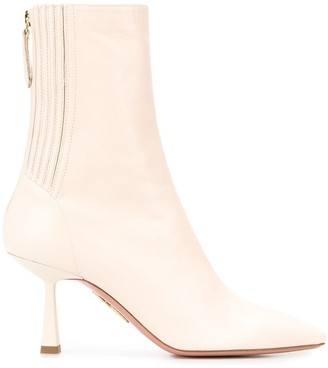 Aquazzura Curzon stiletto ankle boots