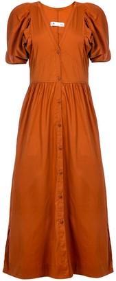 Naftul Oasis Button Down Maxi Dress
