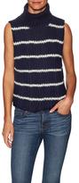 Cashmere Bee Turtleneck Sweater