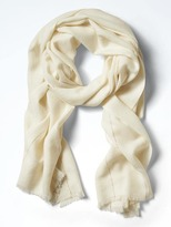 Banana Republic Chevron Wool-Shine Rectangular Scarf