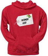 Tee's Plus To Women From God Christmas Tag Adult Pullover Hoodie - 2X-Large