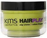 KMS California Hair Play Clay Creme, 4.2 Ounce